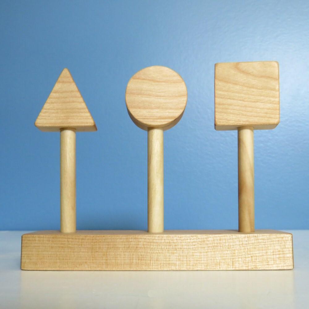 Baguettes à insérer : carré, cercle, triangle