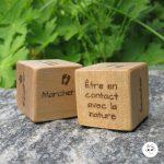 Cubes de pratique de pleine conscience quotidienne