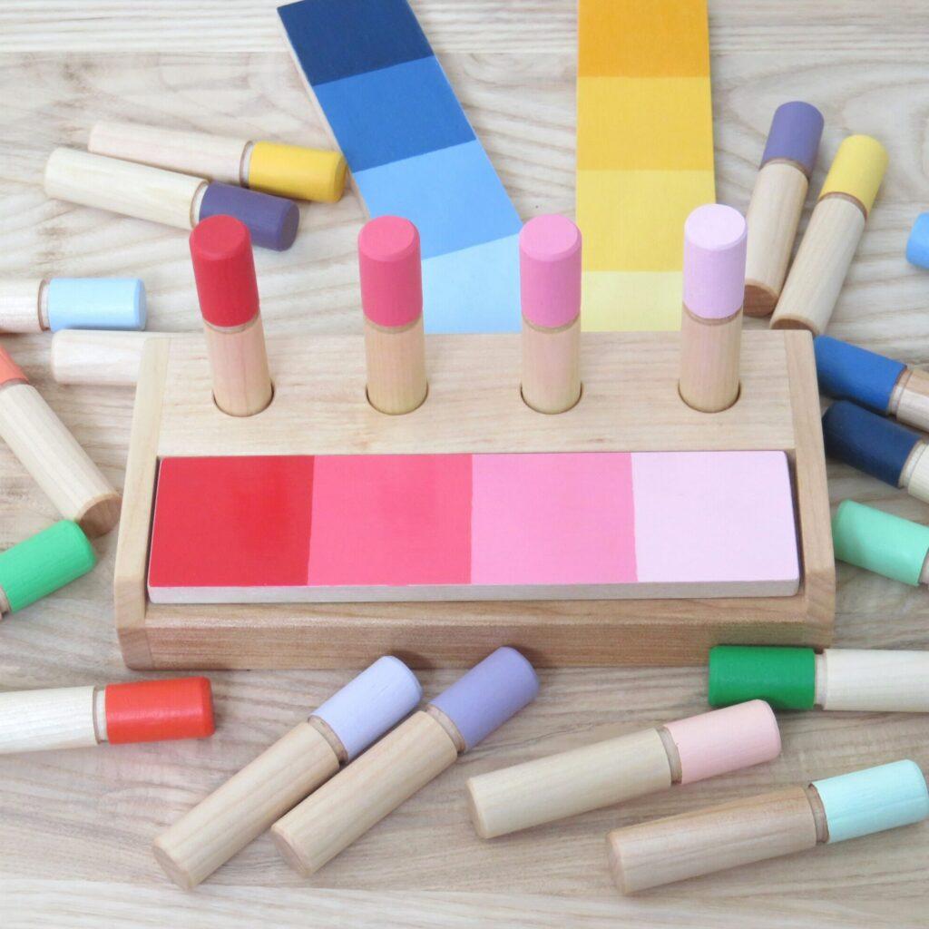 Ensemble de tri des dégradés de couleurs